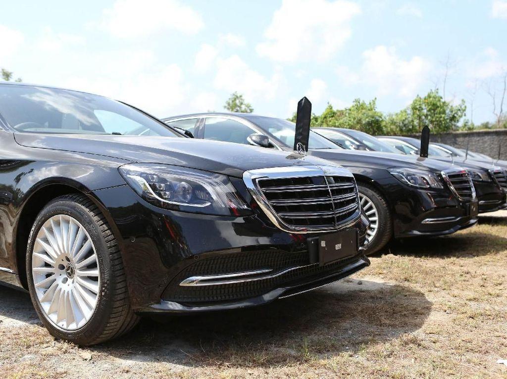 Mercedes-Benz Kerahkan Puluhan Mobil di IMF-WB