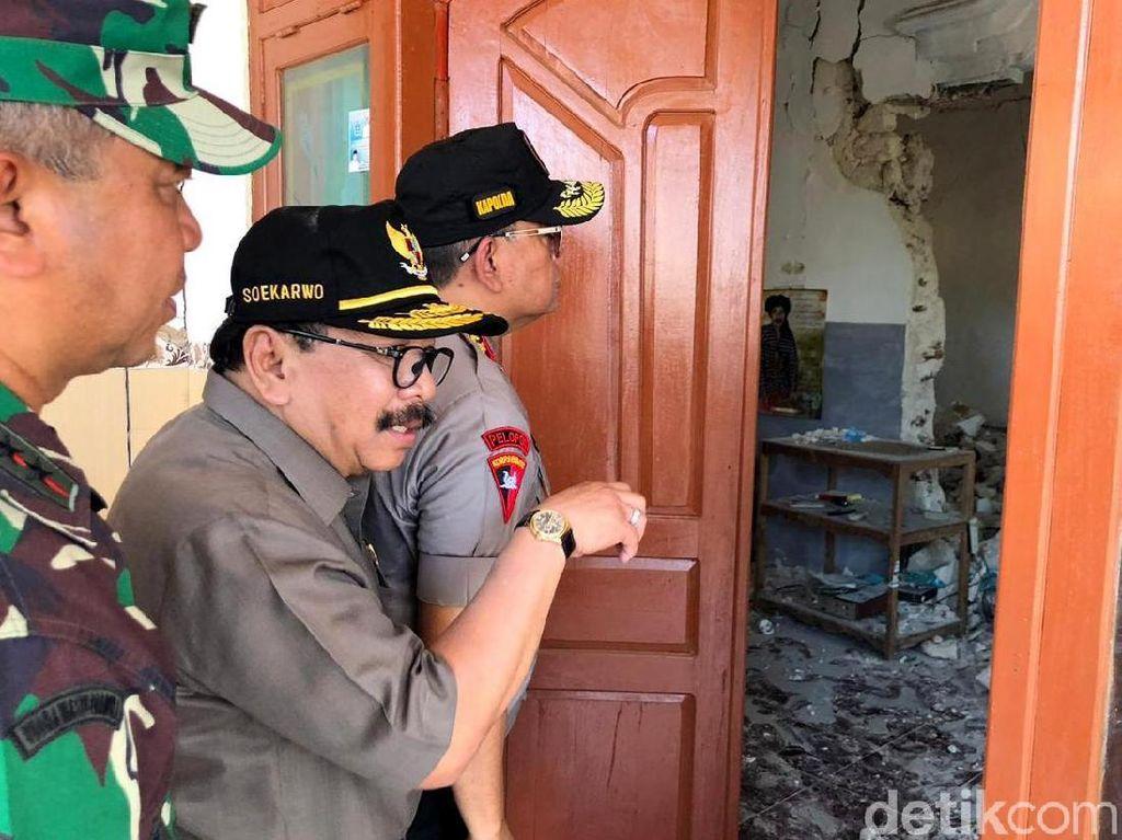 BPBD Sumenep Sebut 126 Rumah Rusak akibat Gempa Situbondo