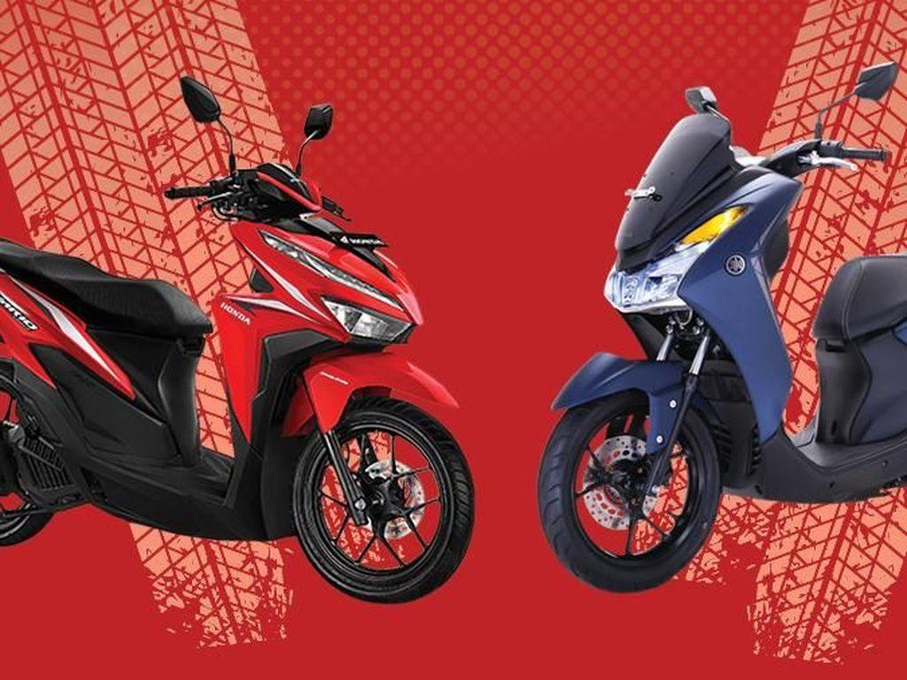 Unggul Mana? Duel Honda Vario 125 Vs Yamaha Lexi