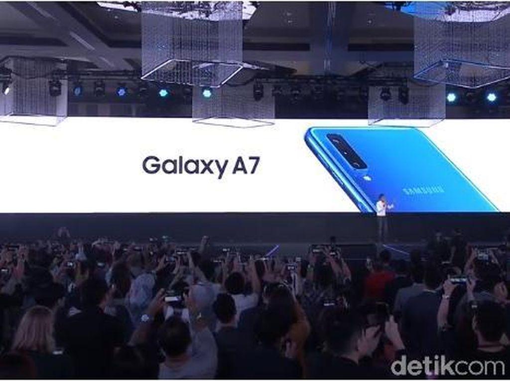 Samsung Rilis Galaxy A7, Ponsel Menengah dengan 3 Kamera Belakang