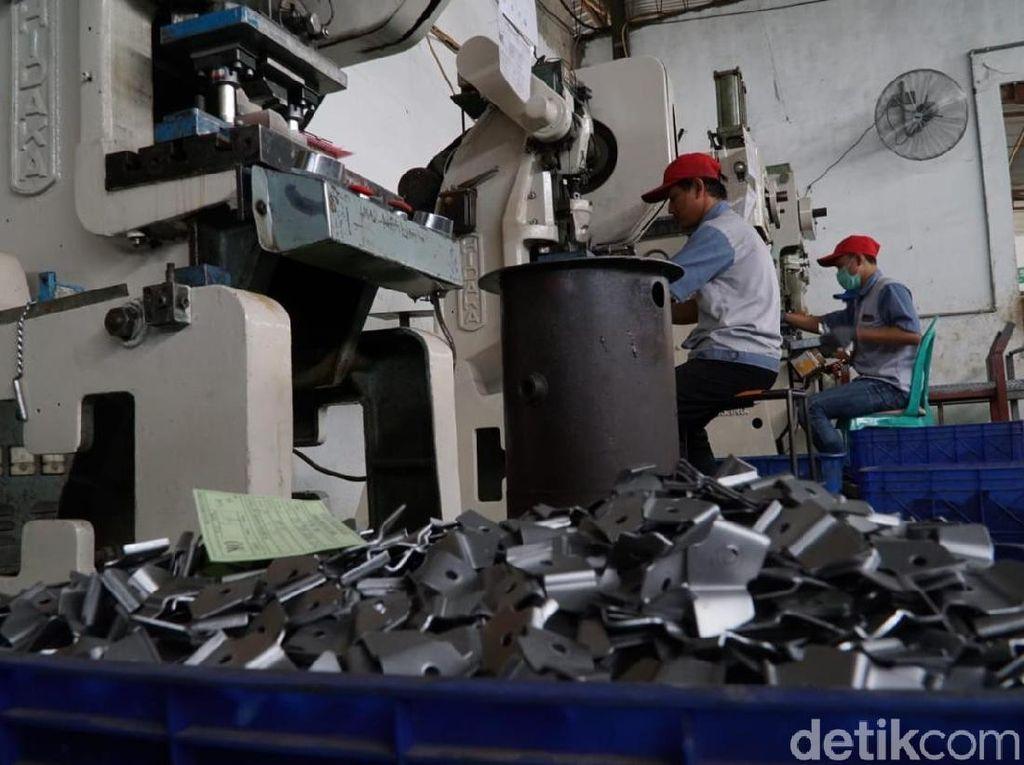YDBA Dukung IKM Logam Agar Bersaing di Pasaran