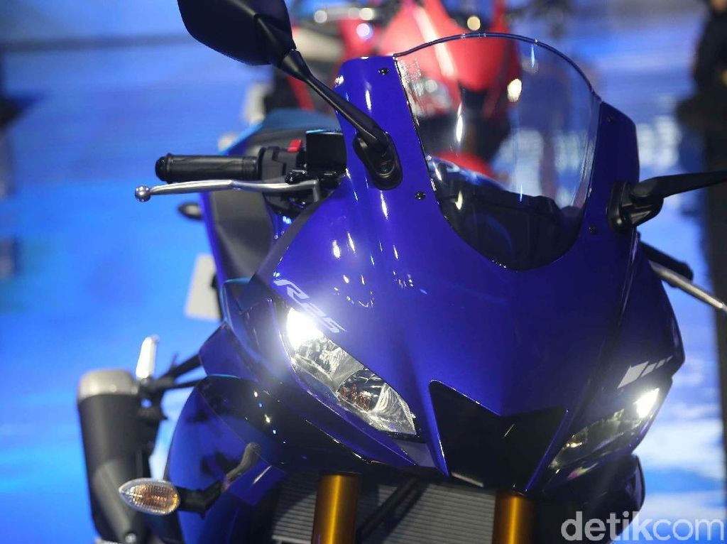 Yamaha YZF R3 Made in Indonesia Mejeng di Bangkok