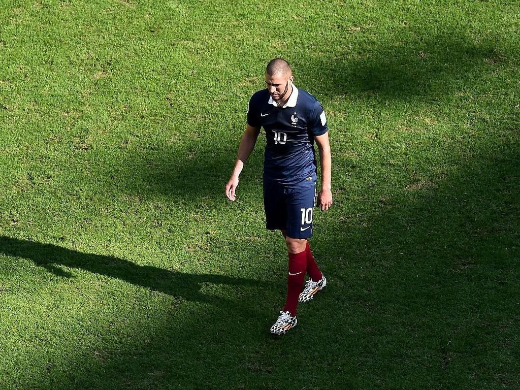 Presiden FFF: Benzema Sudah Tamat di Timnas Prancis