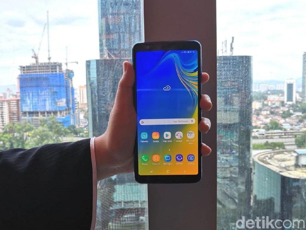 Ini Harga Galaxy A7 di Indonesia