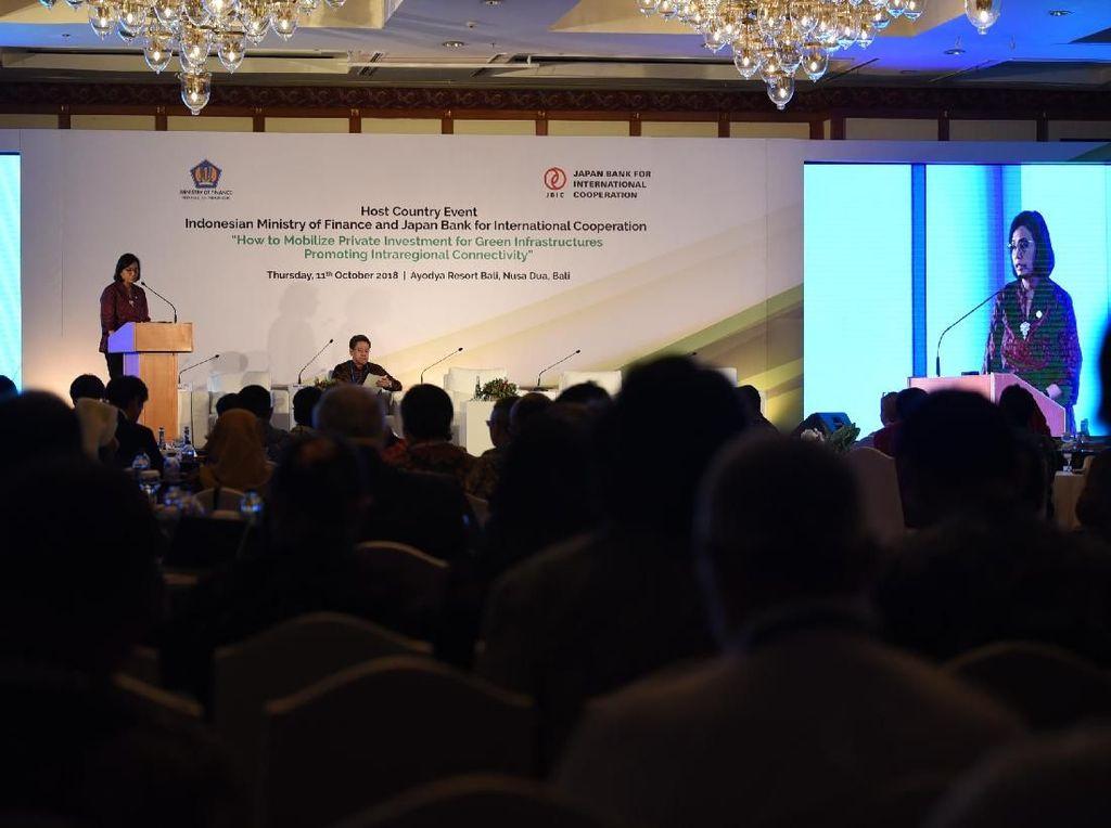 Sri Mulyani Dorong Pembiayaan Ramah Lingkungan untuk Infrastruktur
