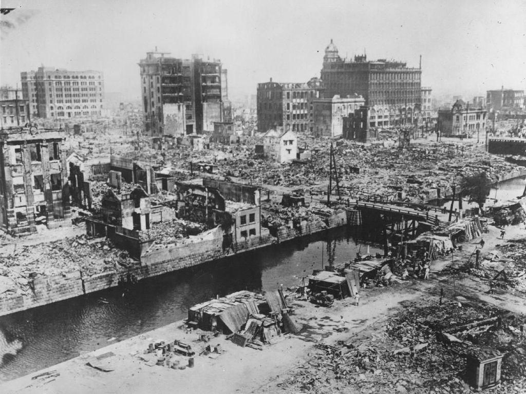 Begini Dahsyatnya Dampak Kerusakan Gempa di Seluruh Dunia