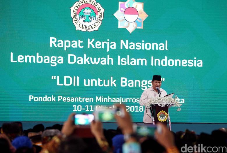 Singgung Slogan Trump, Prabowo Bicara 'Make Indonesia Great Again'