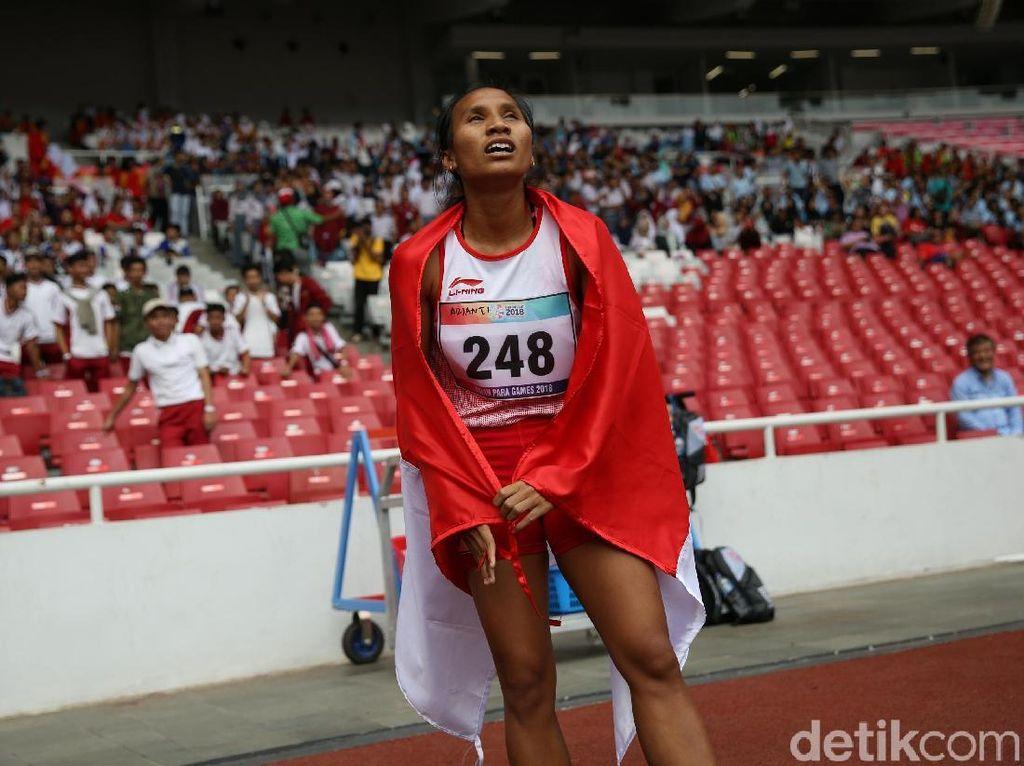Ni Made Arianti Raih Perak Lari 400 M T13 Asian Para Games