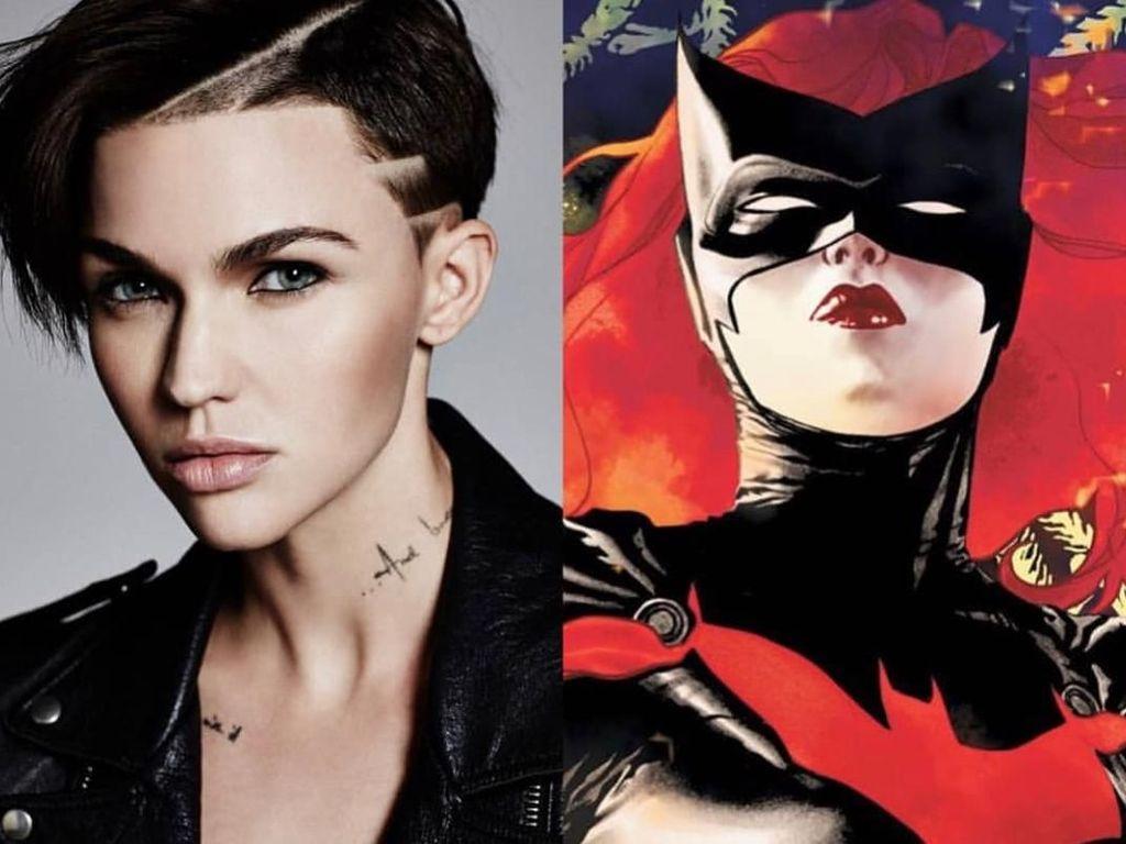 Gaya Androgyny Ruby Rose, Si Tomboy yang Berperan Sebagai Batwoman