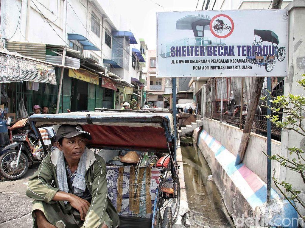 DPRD akan Tolak Revisi Perda Becak, Ini Kata Anies