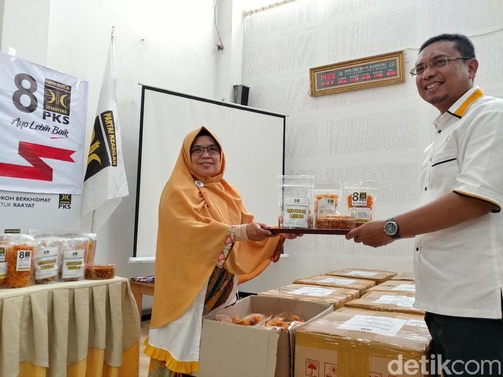 Emak Bandung Kirim 350 Kg Kentang Mustofa ke Sulteng