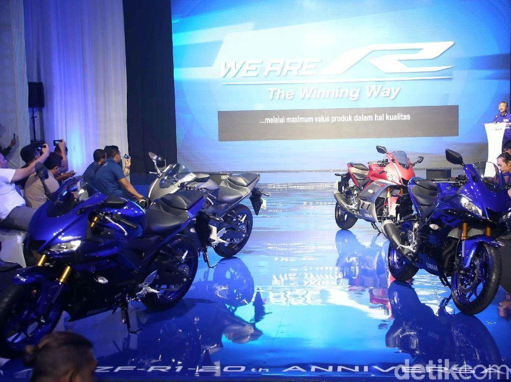 Honda Kuasai Pasar Tanah Air, Yamaha Raja Ekspor