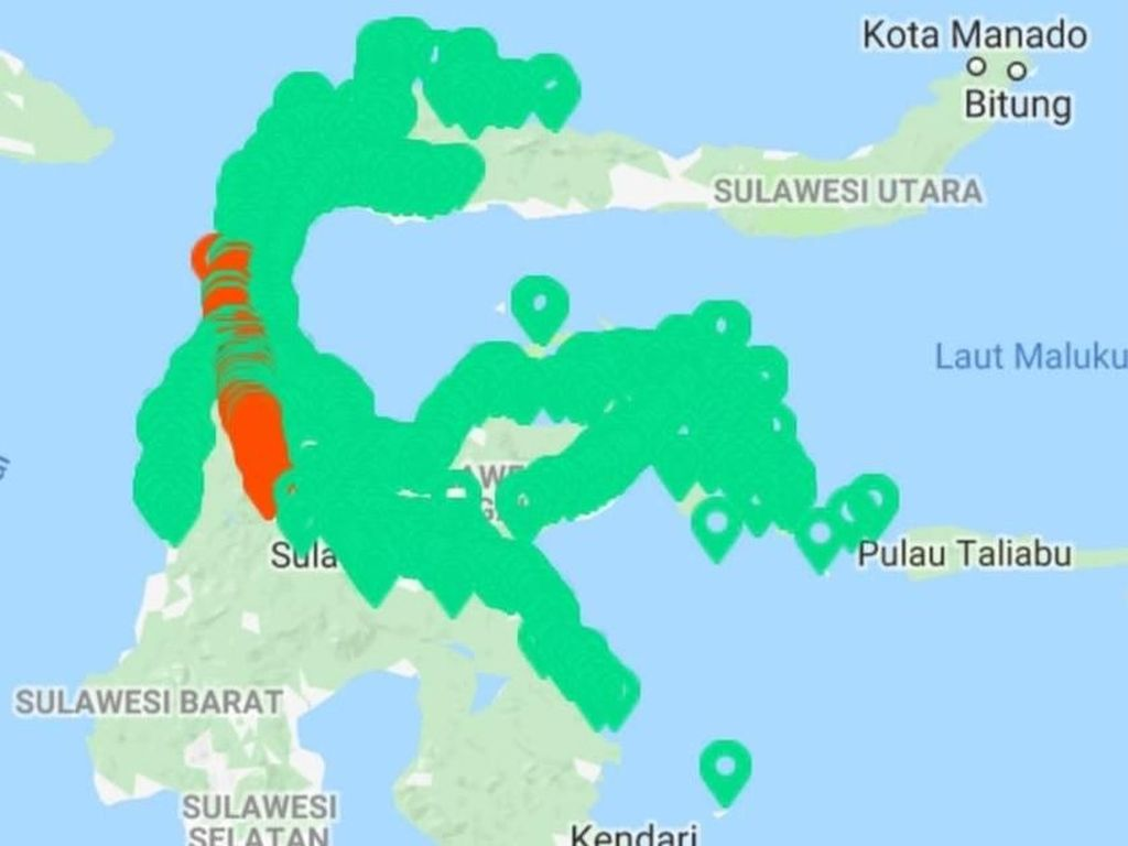 Jaringan Telekomunikasi di Sulteng Sudah Pulih 88%