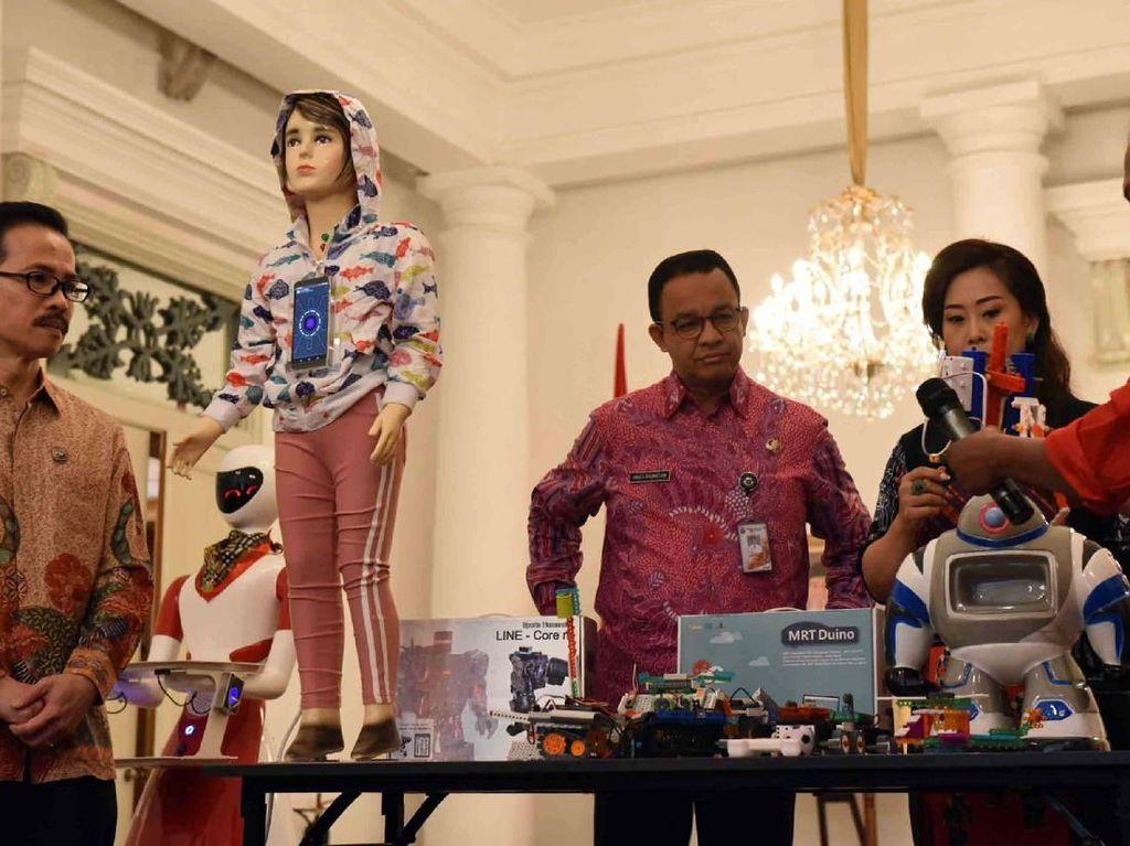 Wacana Pemprov DKI Masukan Ekskul Robotik di Sekolah