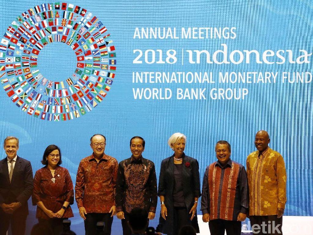 Hari Ini Puncak Acara Pertemuan Tahunan IMF-WB di Bali