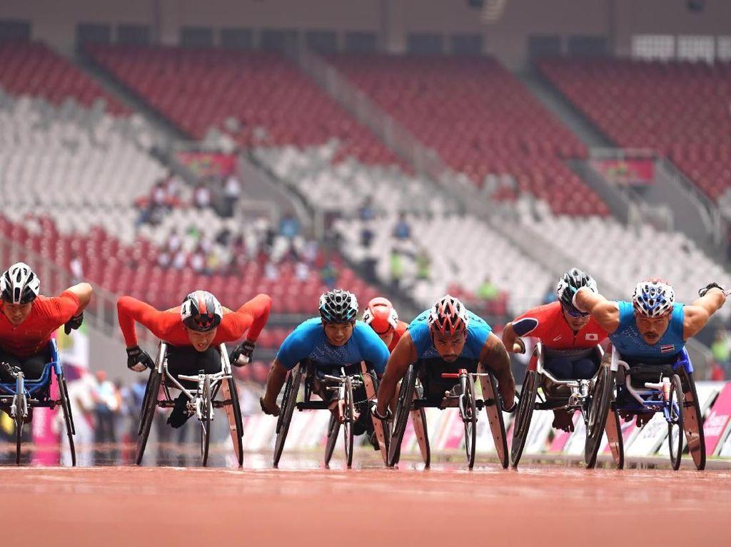 Seret Emas, Indonesia Masih 6 Besar Asian Para Games