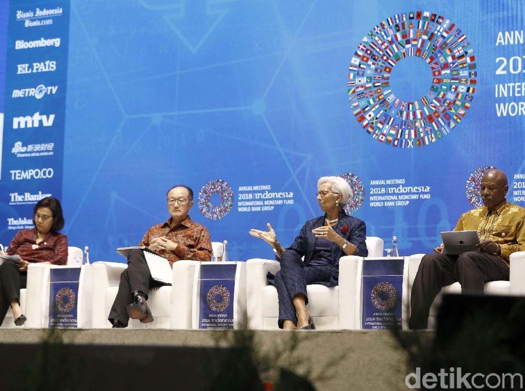 Pemerintah Klaim Pertemuan IMF-WB Puaskan Para Tamu Negara