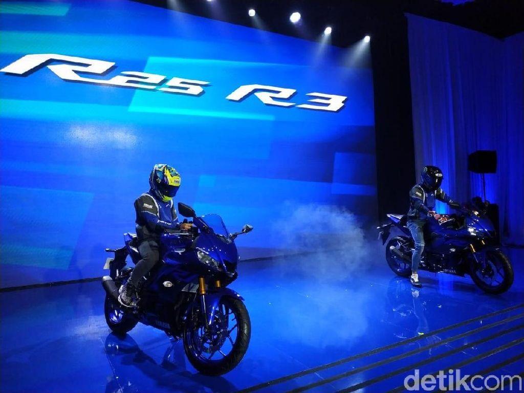 Yamaha Luncurkan R25 dan R3 Pertama Kali di Dunia
