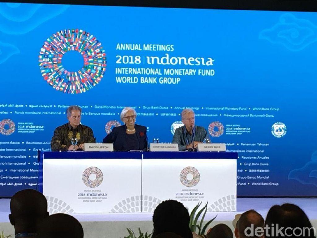 Bos IMF Ingatkan Dampak Perang Dagang AS-China ke Ekonomi Dunia