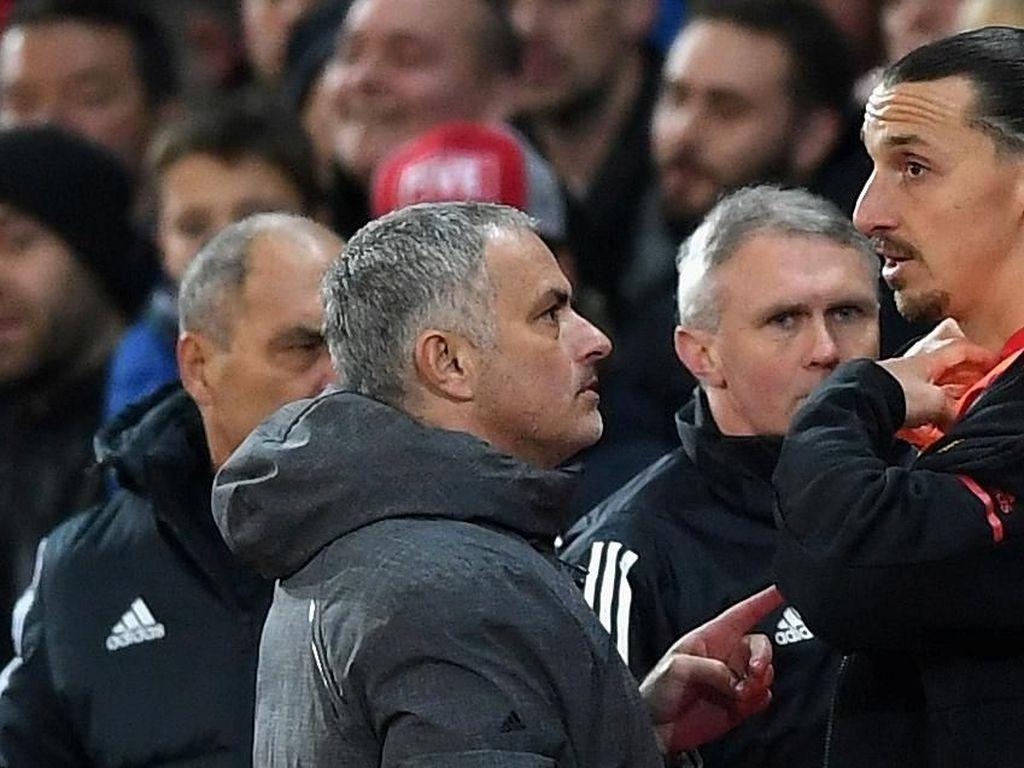 Ibra: Mourinho Masih Pelatih yang Tepat untuk MU