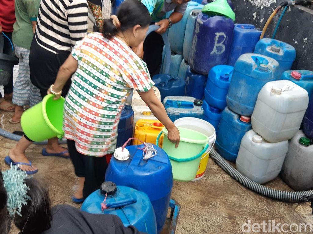 Kemarau, 40 Persen Pelanggan PDAM Bandung Tidak Teraliri Air Bersih