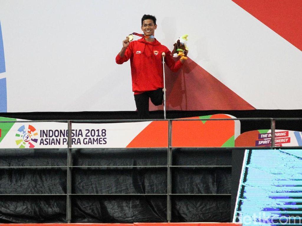 Jendi Sumbang Emas ke-24 Indonesia
