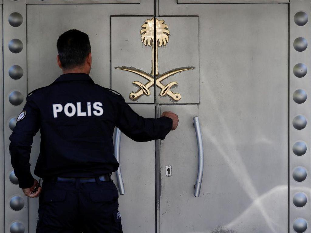 Delegasi PBB Untuk Kasus Khashoggi Tak Bisa Masuk ke Konsulat Saudi