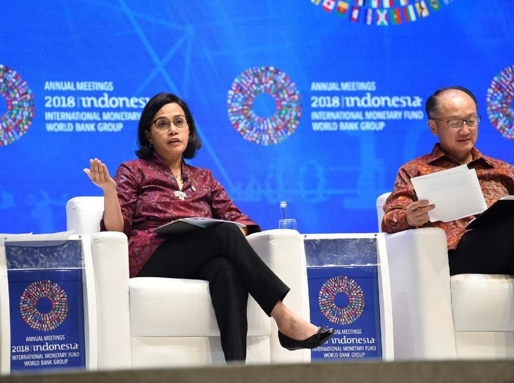 Sri Mulyani Bocorkan Rencana Kim Setelah Mundur dari Bank Dunia