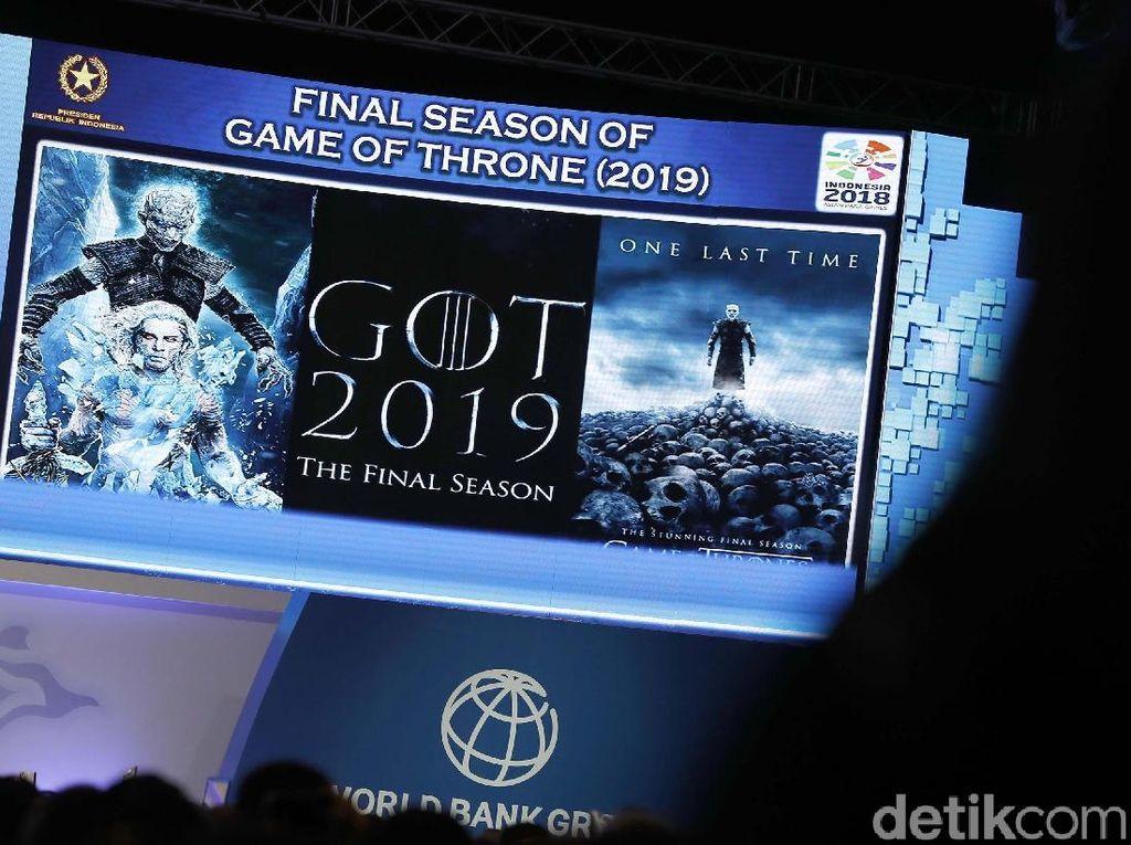 Disinggung Jokowi, Berapa Biaya Produksi Serial Game Of Thrones?