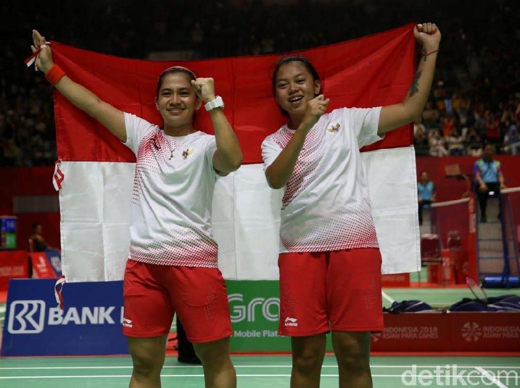 Bulutangkis Ganda Putri Persembahkan Emas Ke-31 Indonesia