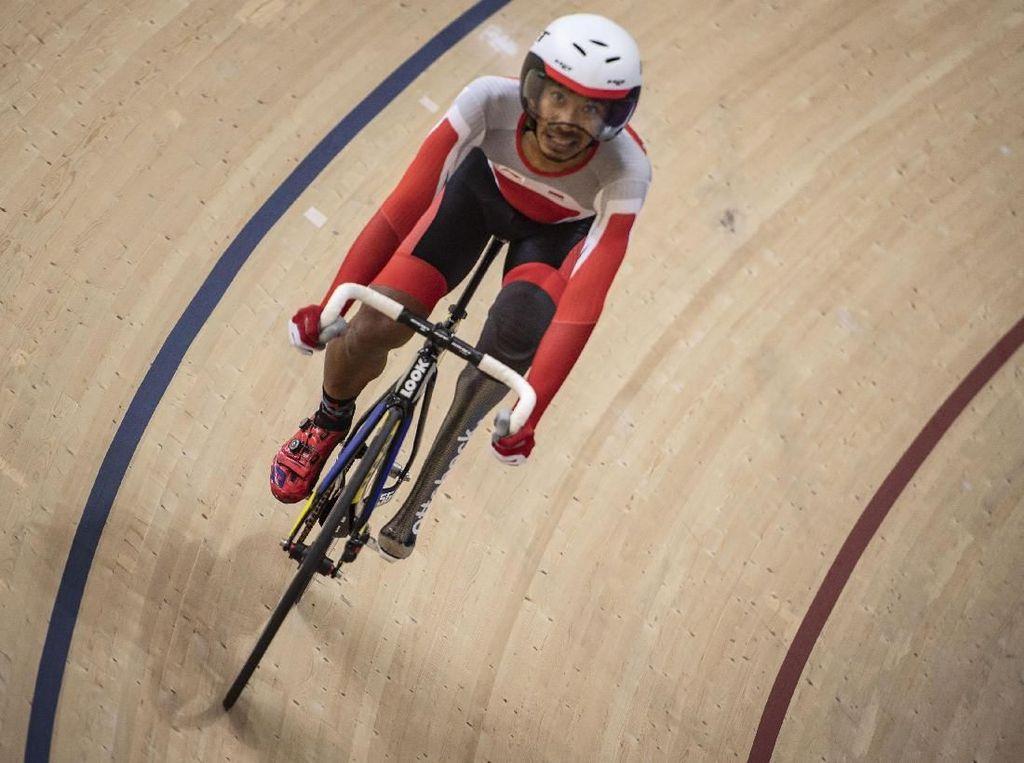 M Fadli Raih Emas ITT Kejuaraan Asia Paracycling