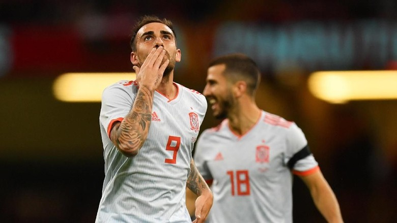 Paco Alcacer Terus Unjuk Ketajaman, Mencetak Dua Gol Untuk Timnas Spanyo