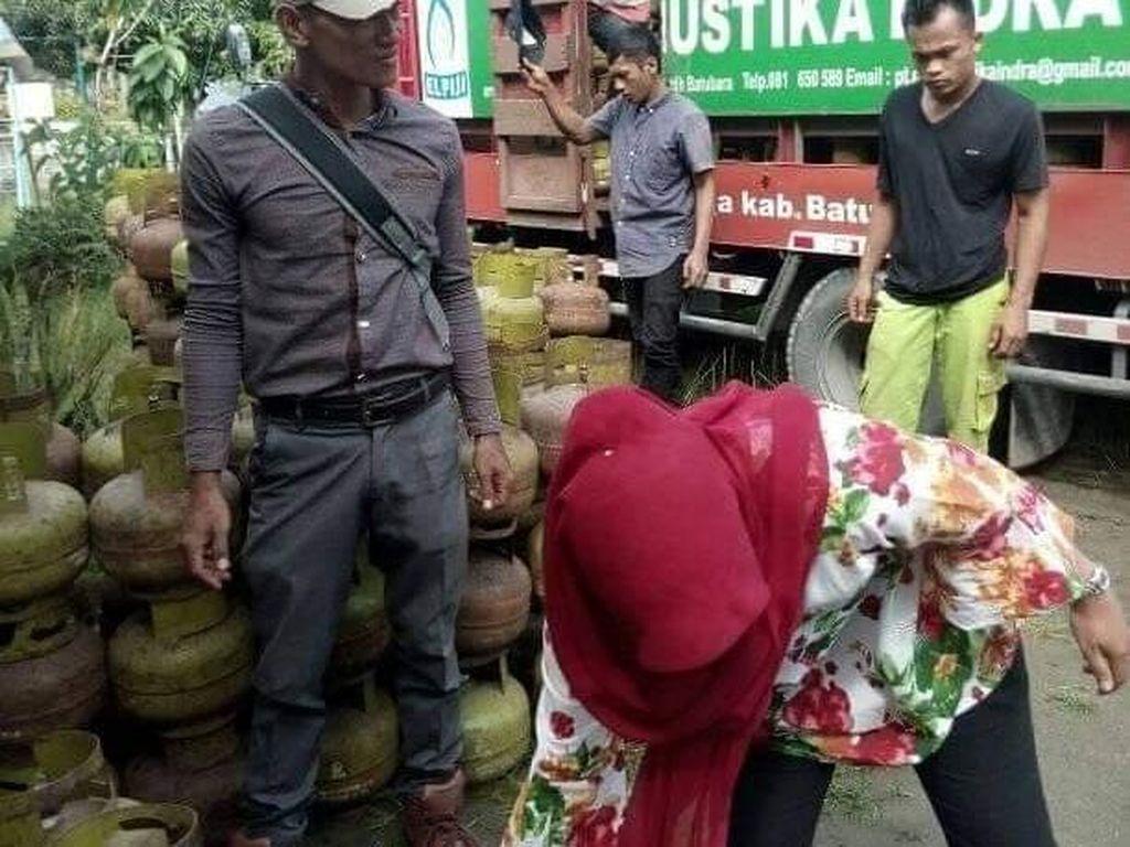 Pastikan Pasokan, Pertamina Gelar Operasi Pasar Gas 3 Kg di Sumut