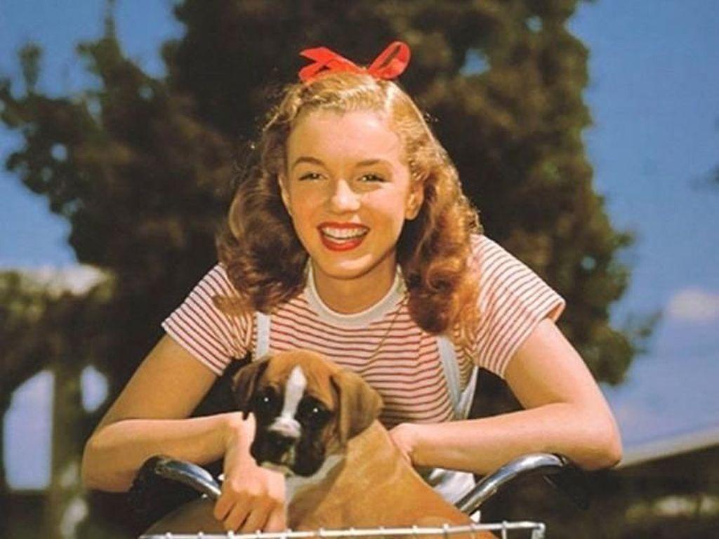 Foto Langka Marilyn Monroe Sebelum Terkenal