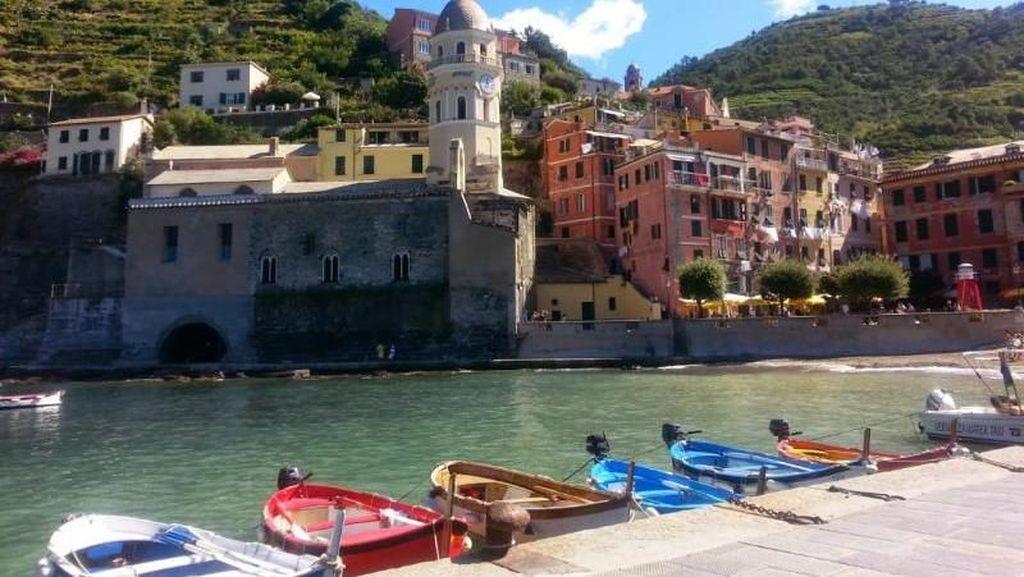 Melihat Desa Nelayan di Cinque Terre Italia
