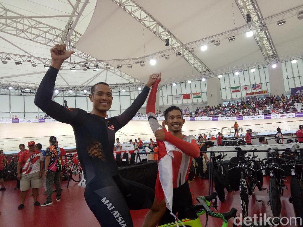 Eks Rider M Fadli Persembahkan Emas untuk Indonesia dari Balap Sepeda