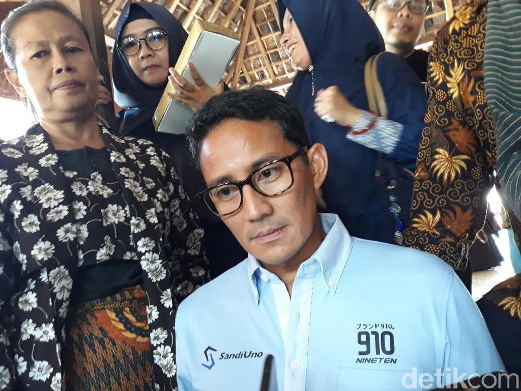 Make Indonesia Great Again Jadi Polemik, Sandiaga: Kenapa Alergi?