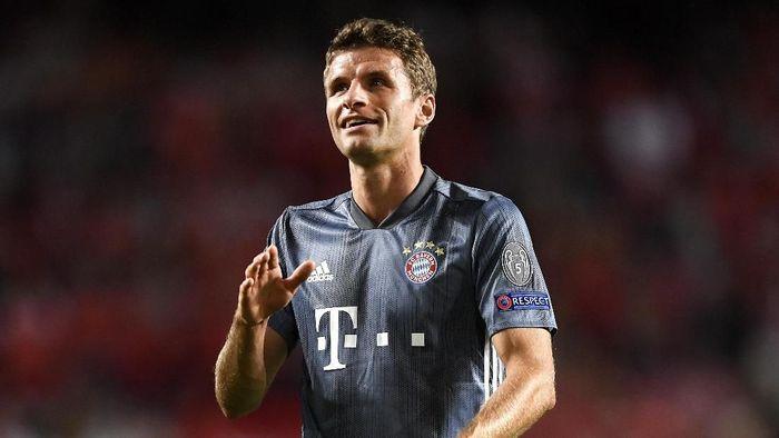 Thomas Mueller memungkinkan meninggalkan Bayern Munich di musim panas nanti. (Foto: Octavio Passos/Getty Images)