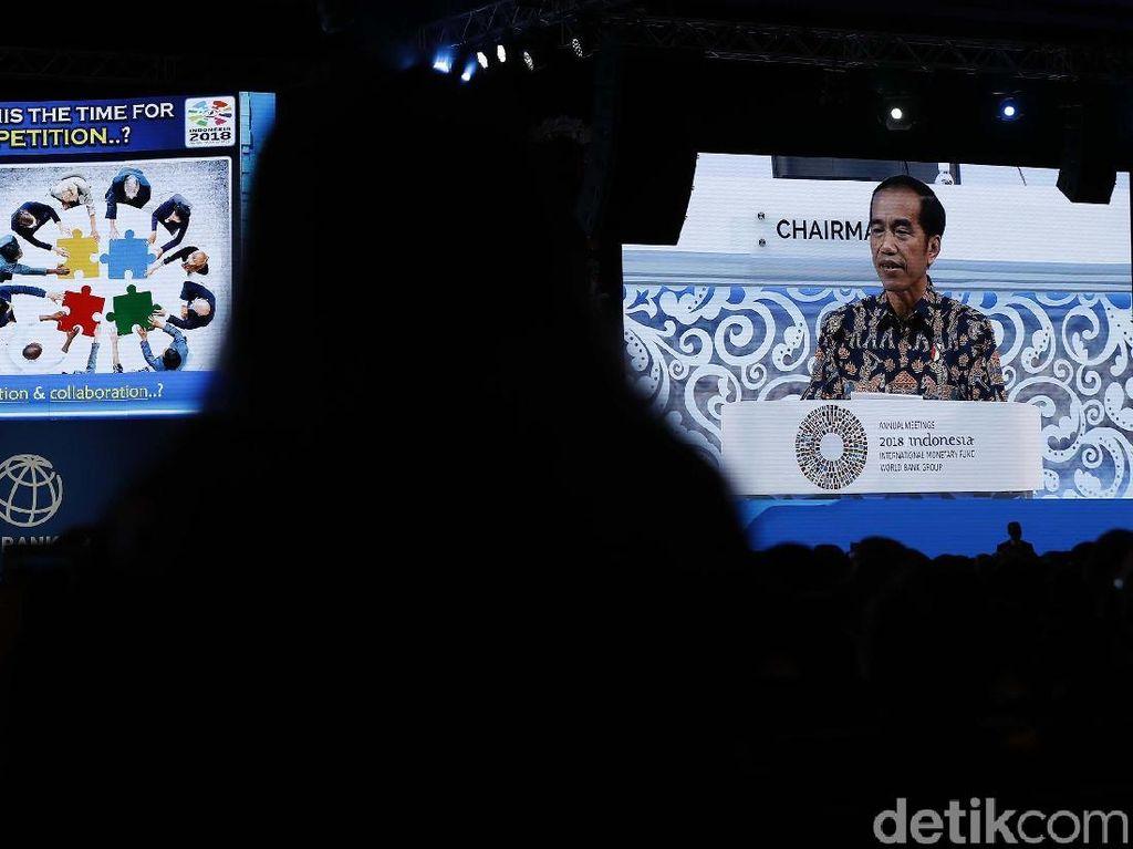 Jokowi Sentil Konflik Perdagangan Dunia Lewat Game of Thrones