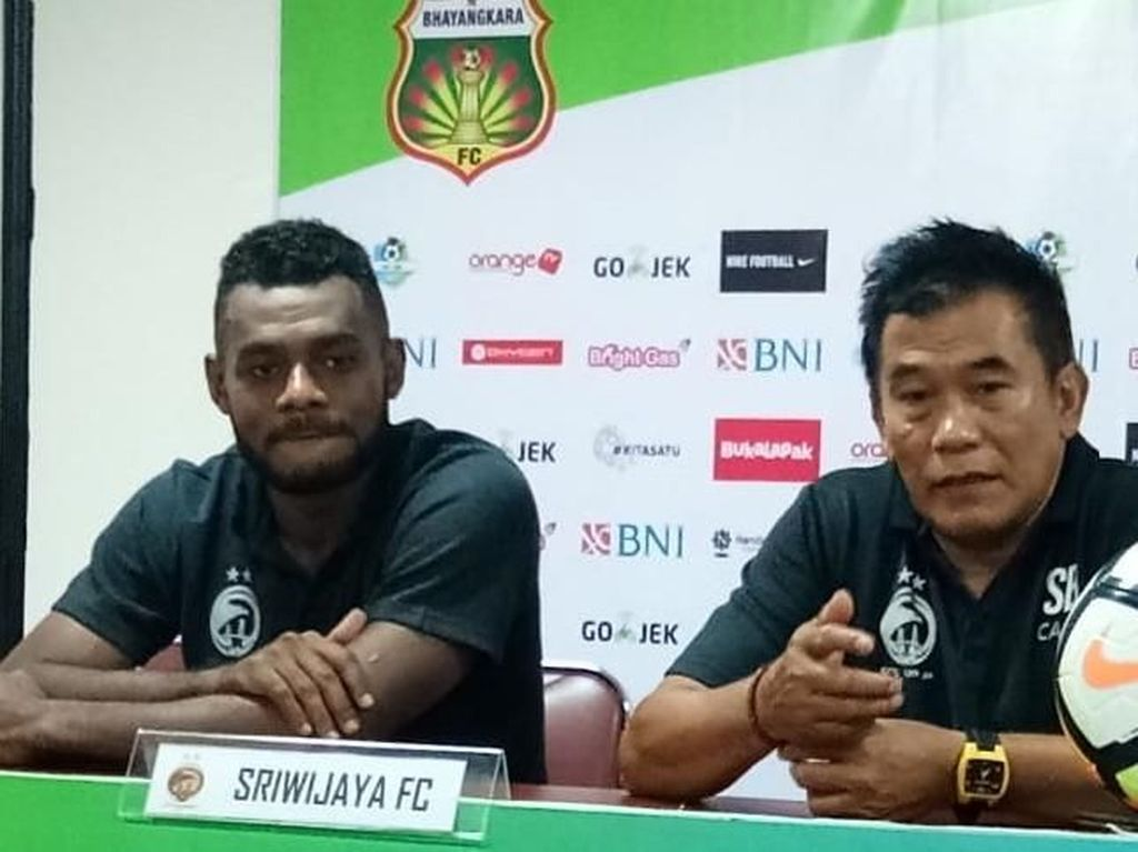 Pemain Minim, Sriwijaya FC pun Kalah