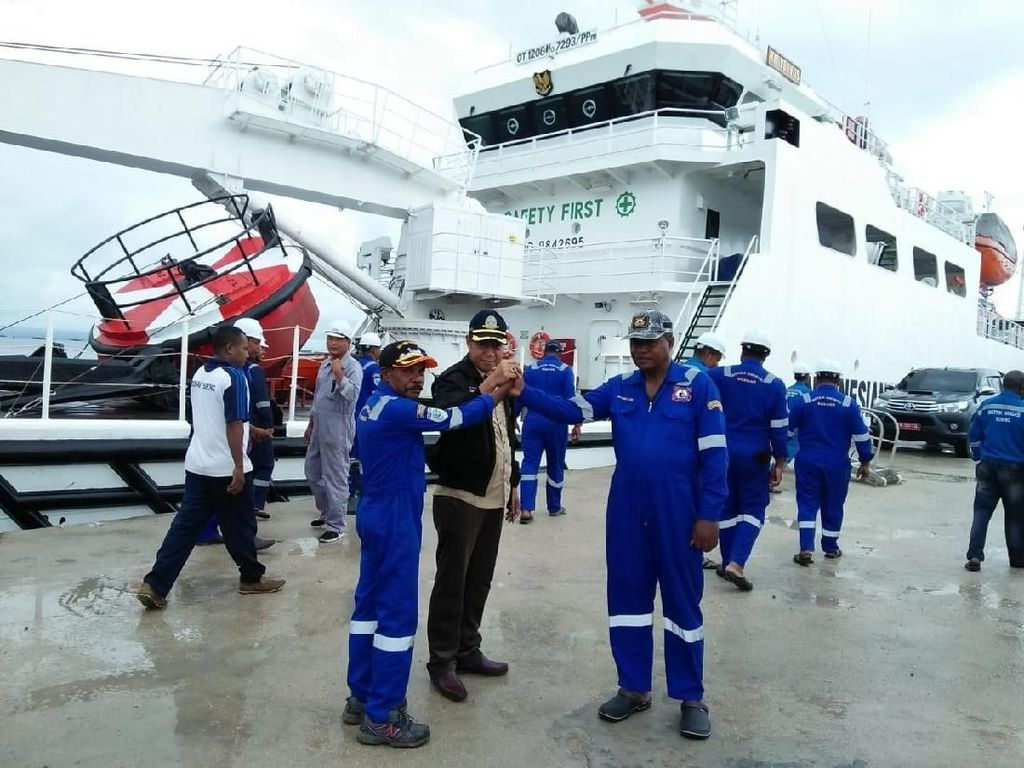 Kemenhub Kirim Fasilitas Sandar untuk Terminal BBM Donggala