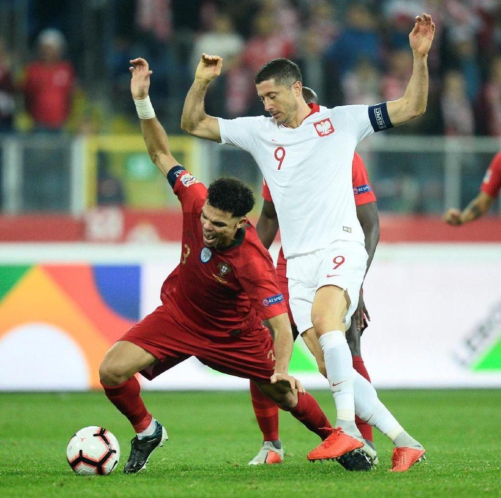 Hasil UEFA Nations League: Tanpa Ronaldo, Portugal Atasi Polandia