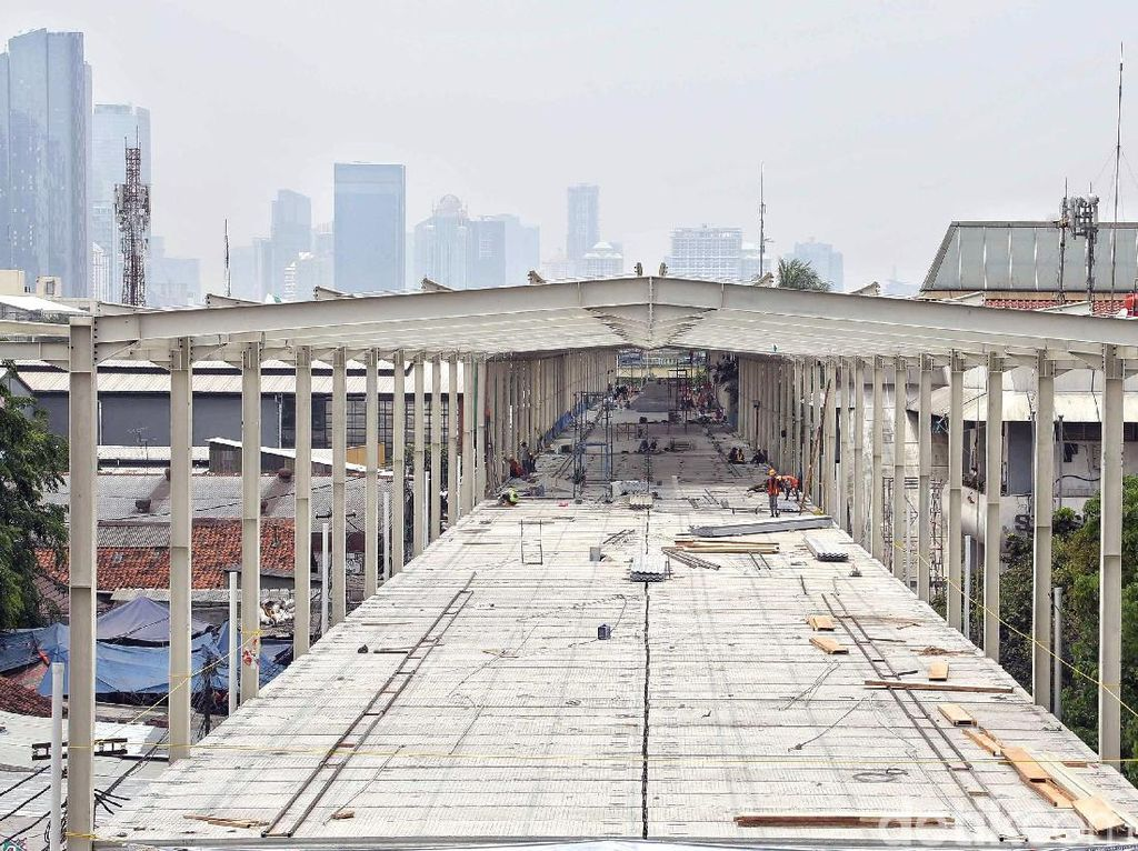 Jelang Setahun Anies Pimpin DKI, Ini Progres Skybridge Tanah Abang