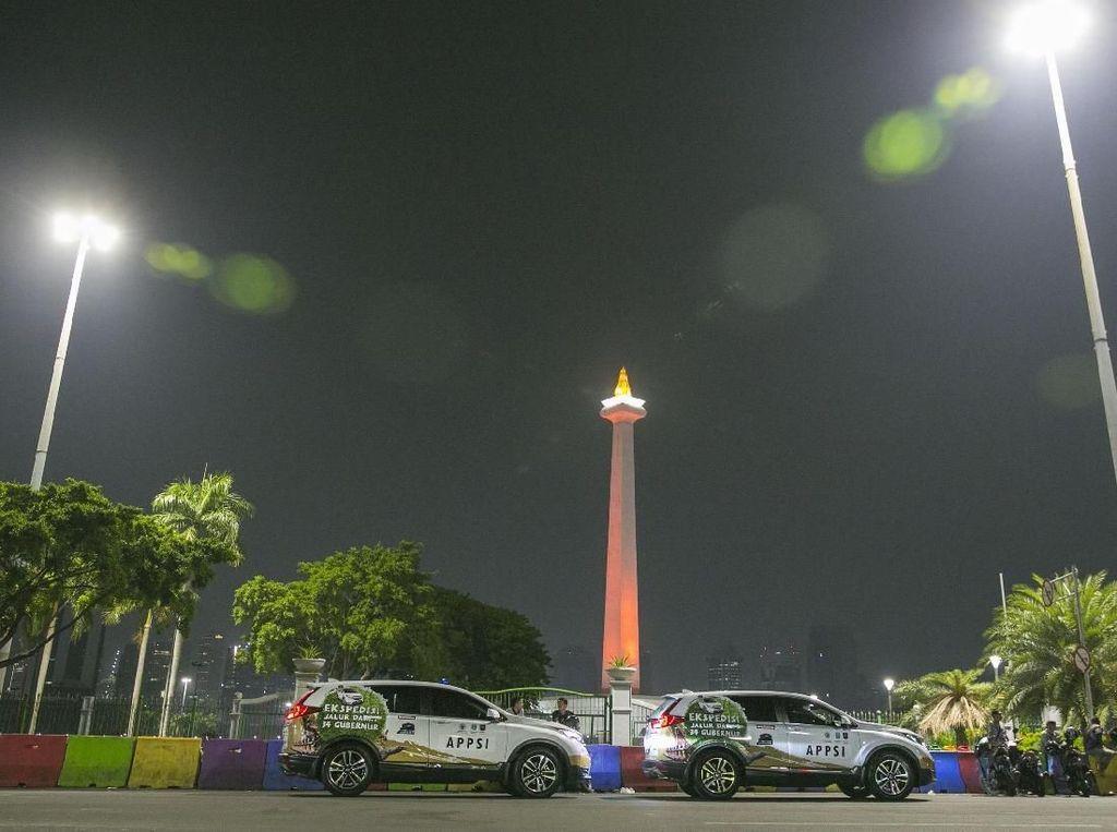Tim Jelajah Nusantara Lanjutkan Perjalanan Lintasi Pulau Jawa
