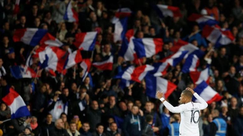 Hasil Laga Uji Coba: Comeback, Prancis Imbang dengan Islandia