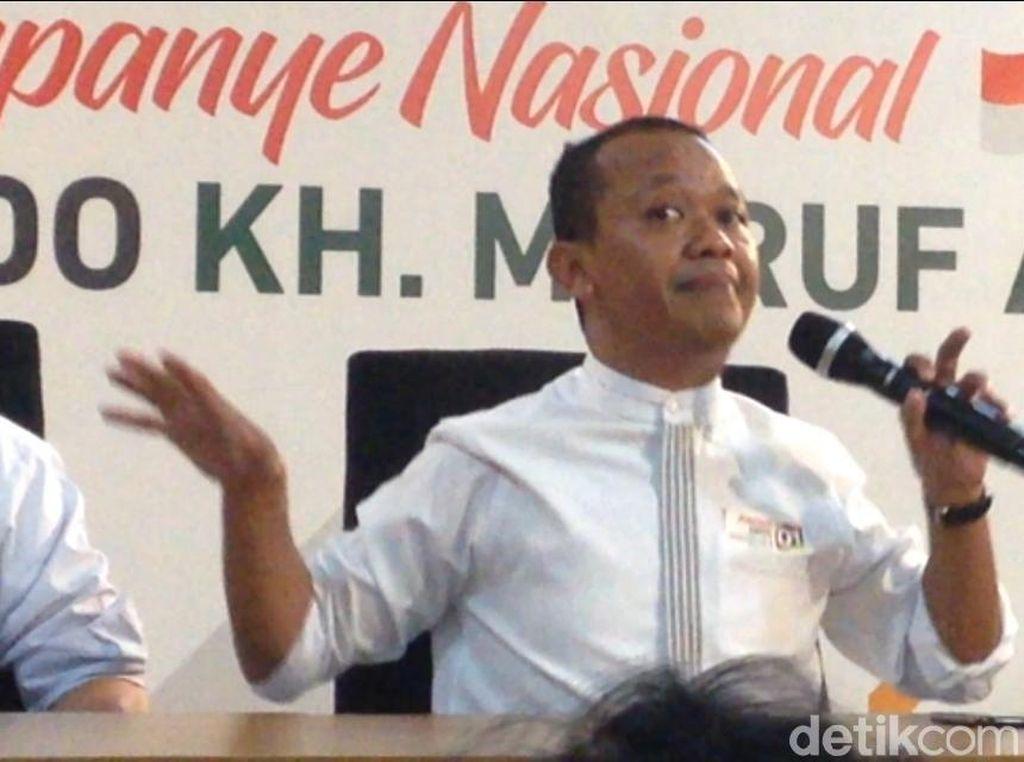 Banggakan Gaya Milenial Jokowi, Timses Sindir Jurus Bangau Sandiaga