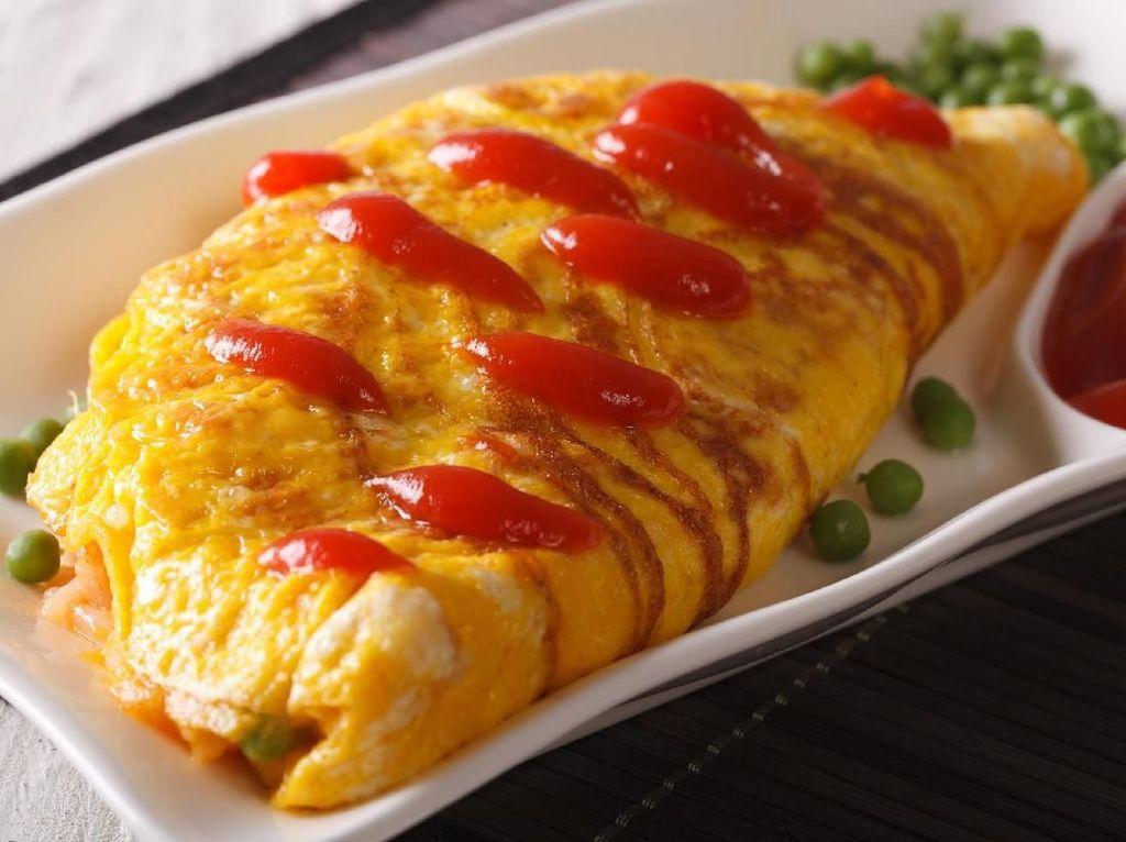 Yuk, Bikin Omelet Kepiting Praktis ala Restoran!