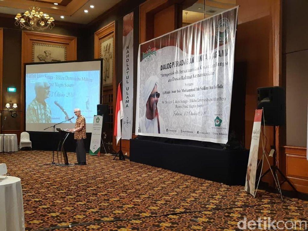 Tokoh Lintas Agama Bahas Persatuan Indonesia Jelang Pemilu
