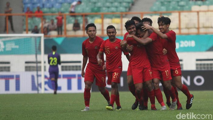 Pemain timnas Indonesia U-19. (Foto: Rifkianto Nugroho/detikcom)