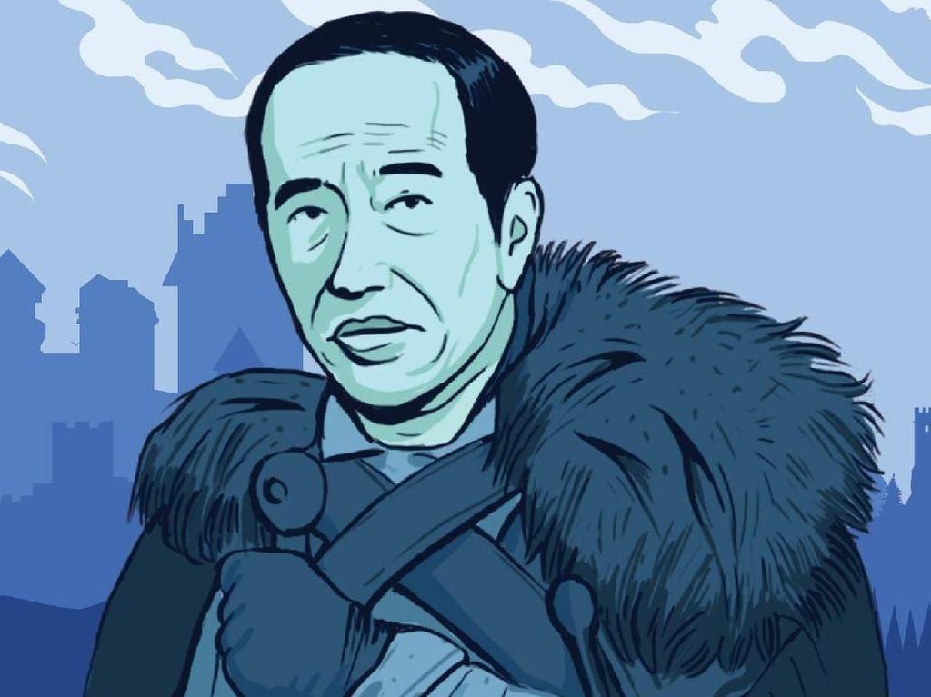 Game Of Thrones Jadi Serangan Balik Jokowi ke Prabowo